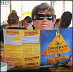 Landshark Bar & Grill menu