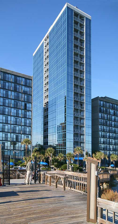Seaglass Tower Myrtle Beach Hotel
