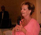 Judy, speaking at Hidden Valley Country Club