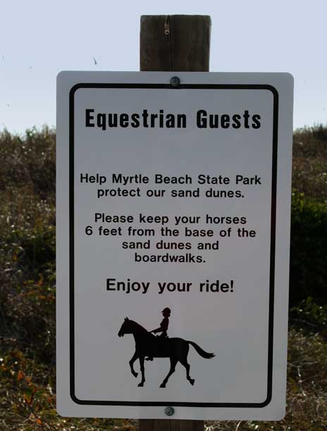 Myrtle Beach State Park Rules