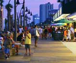 Myrtle Beach Boardwalk Downtown