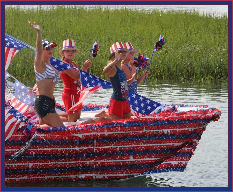 Lake Blalock 4th July Boat Parade 2012 - YouTube