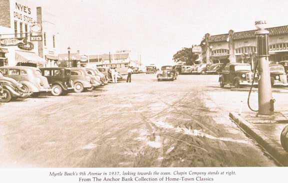 Myrtle Beach 9th Ave. 1937