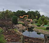 Mini Golf Old Buccaneer Bay Demolition Oct. 2013
