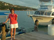 me by Sandals boat