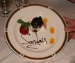 Sandals Whitehouse plate
