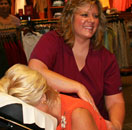 Debbie back massage