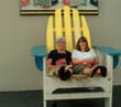 Nancy and Denice - Big Chair Broadway at the Beach