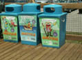 Recycle Bins - Myrtle Beach State Park