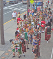Mummers Strig Band at Sun Fun Parade